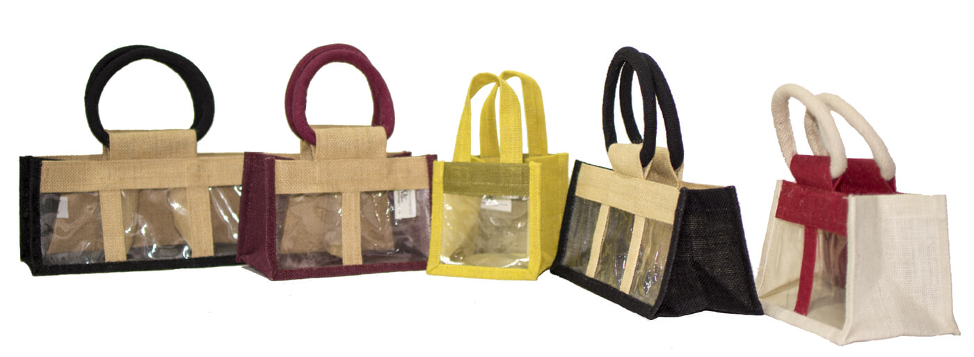 Jute Jar Bags